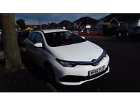 UBER / MINICAB READY PCO HYBRID, TOYOTA AURIS TOURING SPORTS 2016 PLATE FOR RENT FROM £140 / WEEK