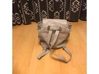 Light grey topshop rucksack