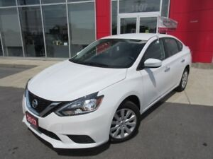 2017 NISSAN SENTRA 1.8 S FULL PWR GROUP JUST 000914 KMS