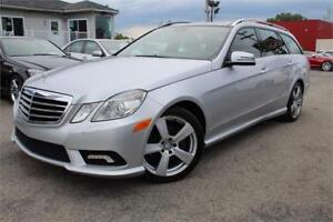 2011 MERCEDES E350 WAGON 4MATIC/AWD NAVIGATION, CAMERA, XENON,