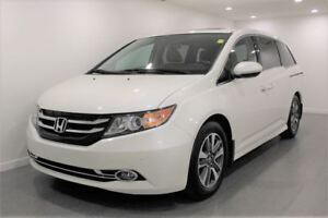 2015 Honda Odyssey Touring|Nav|DVD|8 Pass|Heated Leather