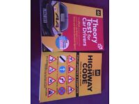 AA theory and Highway Code books