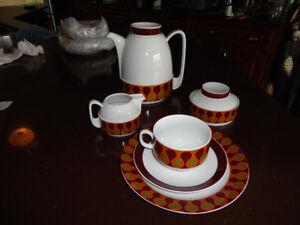 Porcelain Dish Set from Bavaria