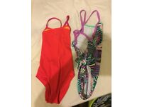 size 32, two new speedo womens costumes