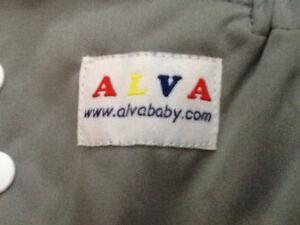 New ALVA cloth diapers