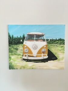 Painting of VW VAN
