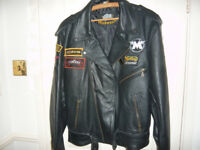 leather jacket for a man
