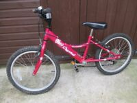 "Girls Hot Pink 20"" Bike Bicyle Townsend with 6 gears"