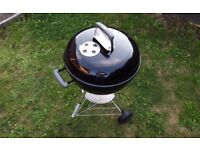 Weber Kettle Charcoal BBQ 47cm Barbecue With Cover