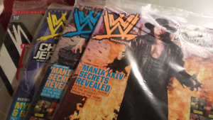 Wrestling Magazine's (dates are listed)