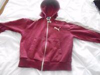 Boys Puma hoodie 140cm