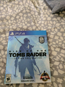 The rise of tomb rider PS4