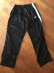 Men's Black Puma pants 2 pr & 1 pr Admiral