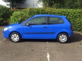 Blue Volkswagen Polo 2006 1.2l 3dr 70,000 miles - a great wee car!