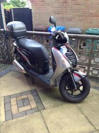 Honda PES125 scooter, twist n go, low mileage, good condition
