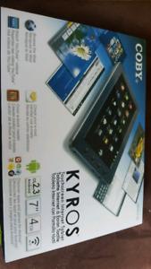 "7"" Kyros Touchscreen tablet 4GB wi-Fi"