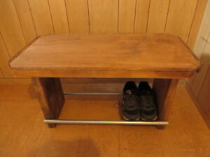 Bench & ShoeRack in one