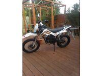 Wk 125 trial bike