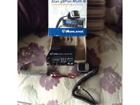 Cb radio midland 48+ multi with magmount
