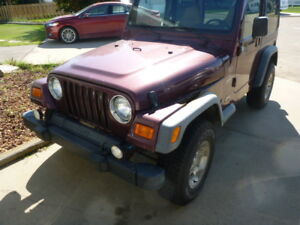 2001 Jeep TJ Sport Other