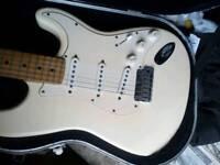 Fender Stratocaster 1996 50th Anniversary. Rare Olympic White