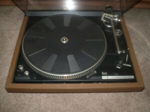 DUAL 604 ELECTRONIC DIRECT DRIVE TURNTABLE 1977