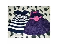 Girls dresses 9-12mths