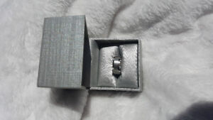 Men's White Gold Wedding Band - Never Worn