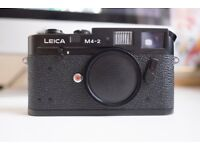 Leica M4 M4-2 35mm camera body in excellent condition