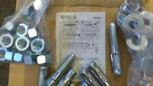 Hilti expansion anchors 1/2 x 2 3/4 box of 25