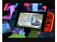 Nintendo switch with games wanted