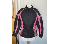 Frank Thomas Lady Rider motorbike jacket size XS - excellent condition