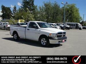 2015 RAM 1500 ST REGULAR CAB LONG BOX 2WD HEMI **ONLY 15000KM**
