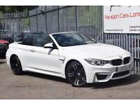 2014 BMW 4 Series M4 Convertible 3.0 Bi T 431 SS DCT Auto7 Petrol white DualClut