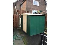 8x6 metal shed (USED/COLLECTION)