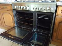 Kenwood dual fuel range cooker (CK405)