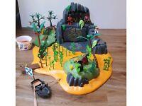Playmobile pirate treasure island