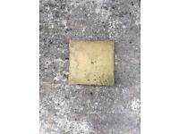 Stone paving slabs x18