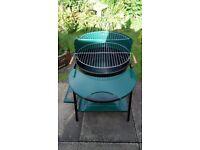 Portable Round Barbecue