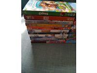 walt disney/pixar/dreamworks childrens dvd bundle