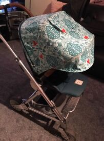 Mamas & papas Donna Wilson pram with car seat Isofix base & extras