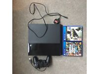 500gb PLAYSTATION 4/ 2 GAMES/ 1 CONTROLLER