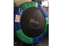 Plum 4.5ft junior trampoline included net
