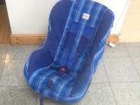 Britax Eclipse group 1 car seat for 9kg upto 18kg(9mths to 4yrs)reclines,is washed and cleaned