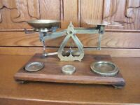 Brass Post Office Scales