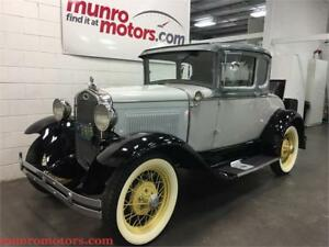1931 Ford Model A DELUXE Original Rumble Seat & Luggage