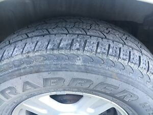 Set of 4, 265 70 17 General All Season tires, lightly used