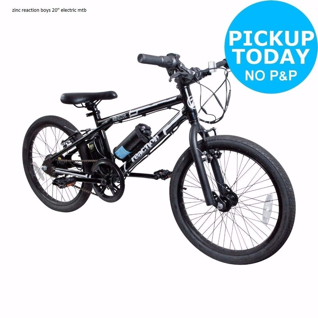 Brand New Bike In Box Zinc 20 Electric Bmx Mountain Bike Upto