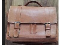 Vintage Ruitertassen briefcase document holder