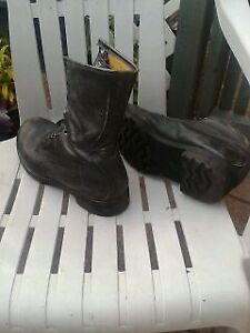 Leather Steel toe Boots